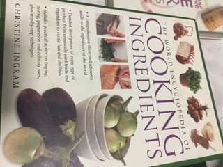 Cook Books(the cooking ingredients)