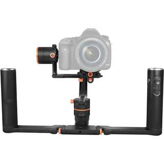 Feiyu A2000 3-Axis Gimbal & 2-Hand Holder Kit for DSLR or Mirrorless