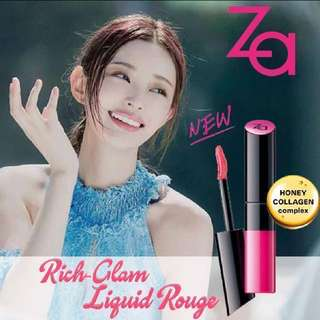 ZA Rich-Glam Liquid Rouge (Free with $20 spending)