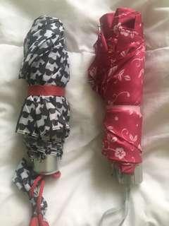 Umbrellas- $4 each