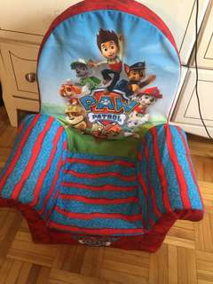 Paw patrol lounge chair for kids