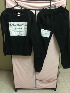One set Ballinciaga inspired by Balenciaga