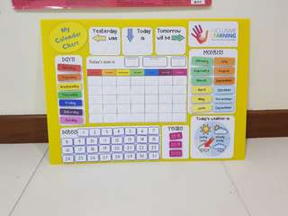 {Coming Soon...} My Calendar Chart
