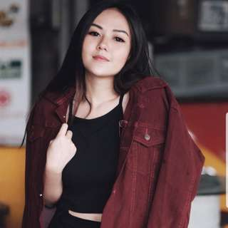 Maroon jacket basic zara