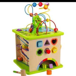 Hape Wooden Activity Cube