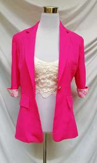 Power pink Blazer