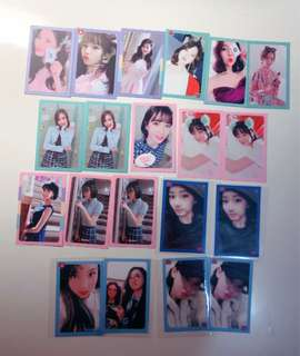 WTS;twice wil photocards