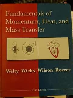 CN2125/CN2122 Fundamentals of Momentum, Heat and Mass Transfer