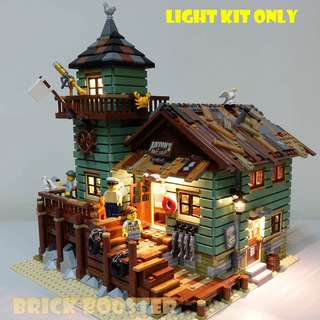 Lego 21310 USB Powered LED Old Fishing Store 全套燈組