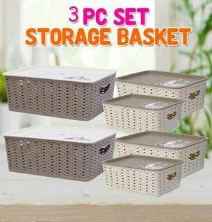 3PC Set Storage Basket FREE POSTAGE