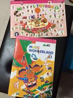 Yamaha music wonderland books