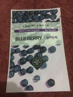 Etude house mask sheet blueberry