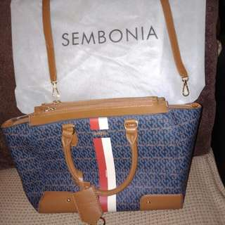 Preloved sembonia authentic - warna biru