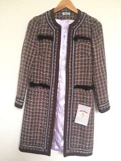 MOSCHINO TWEED COAT
