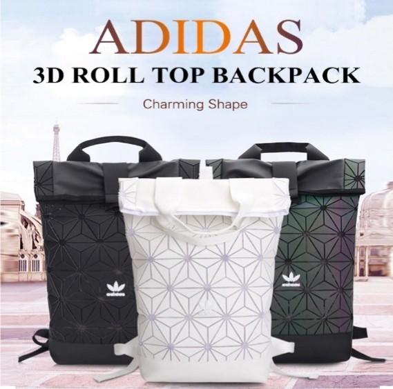 449992af8cf3 Adidas 3D Roll Top Backpack