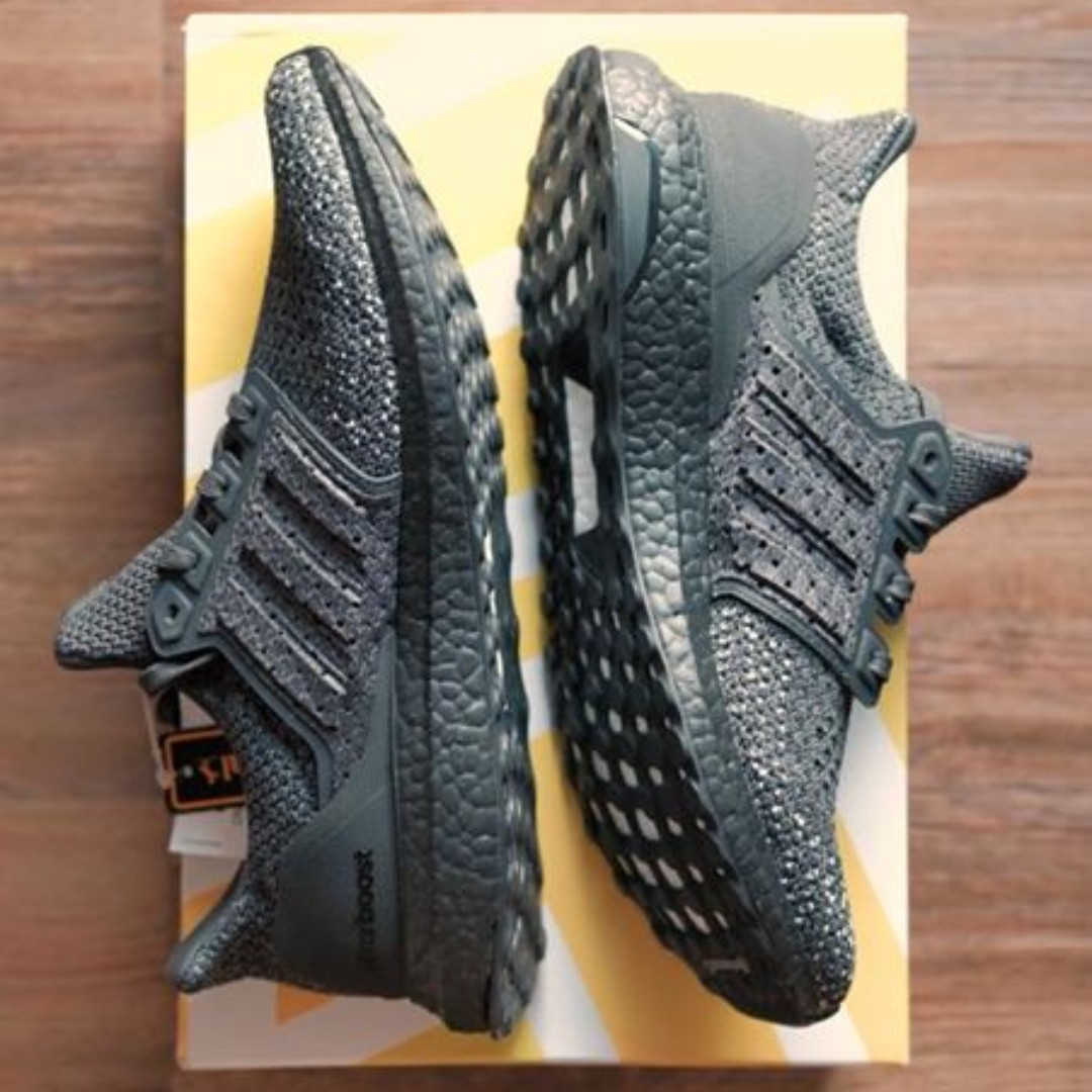 a520bdef8bd56 Adidas Ultra Boost Clima Triple Black Running Shoes Men s Size 9 US ...
