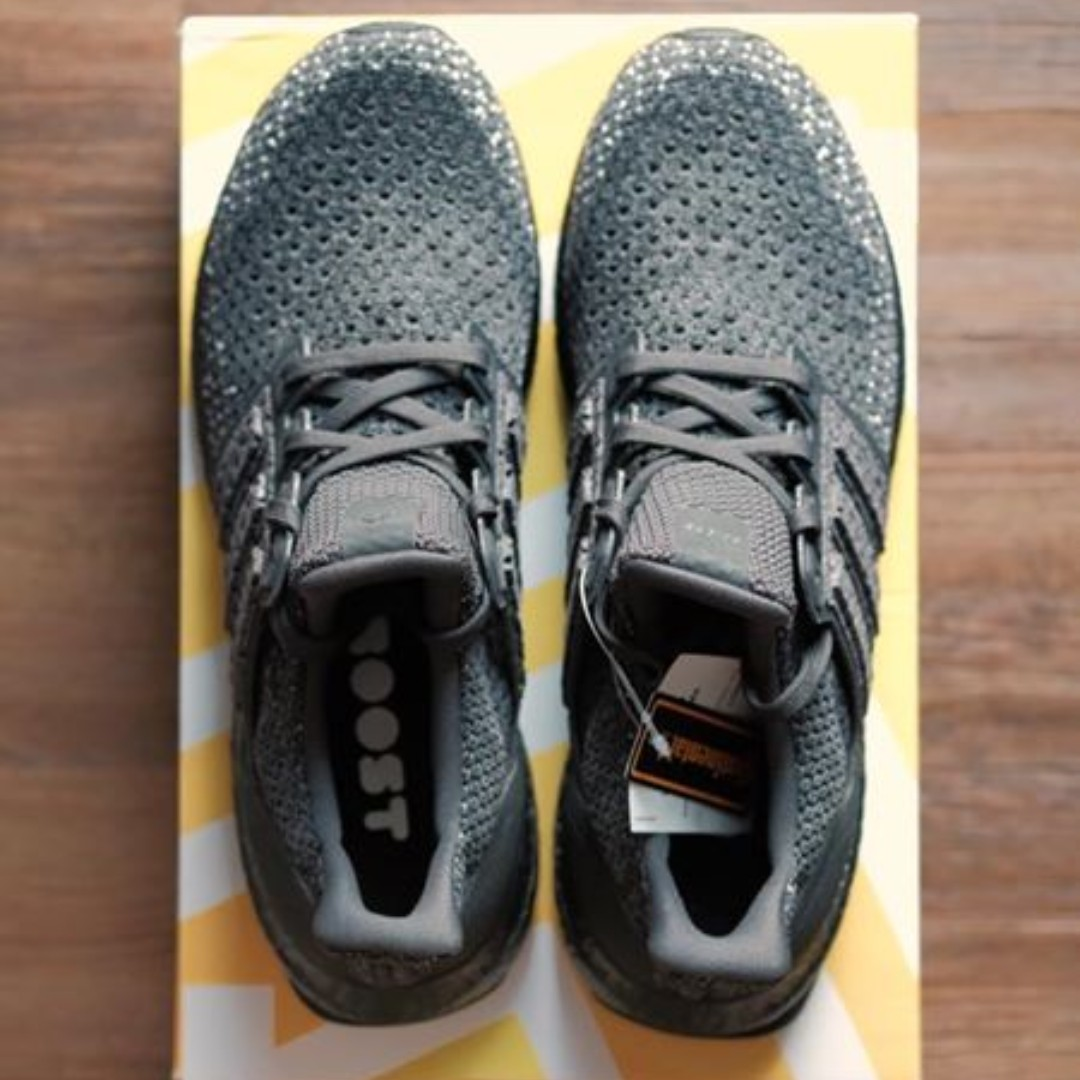 b509dff4226 Adidas Ultra Boost Clima Triple Black Running Shoes Men s Size 9 US ...