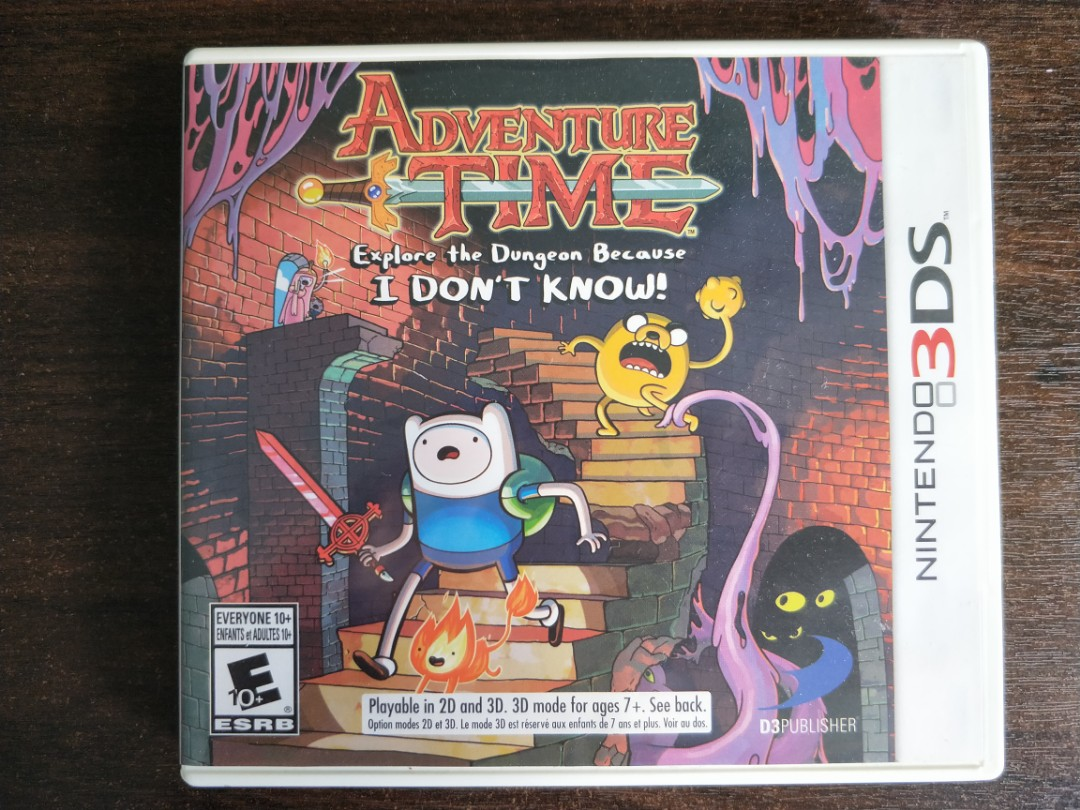 adventure time explore the dungeon because i dont know video games