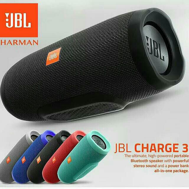 Authentic JBL Charge 3 (Pre-Order)