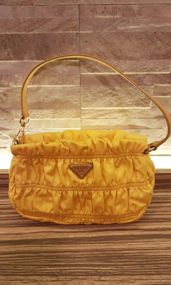 11f8b0d419fd AUTHENTIC PRADA TESSUTO GAUFRE SMALL MINI TOTE BAG, Luxury, Bags ...