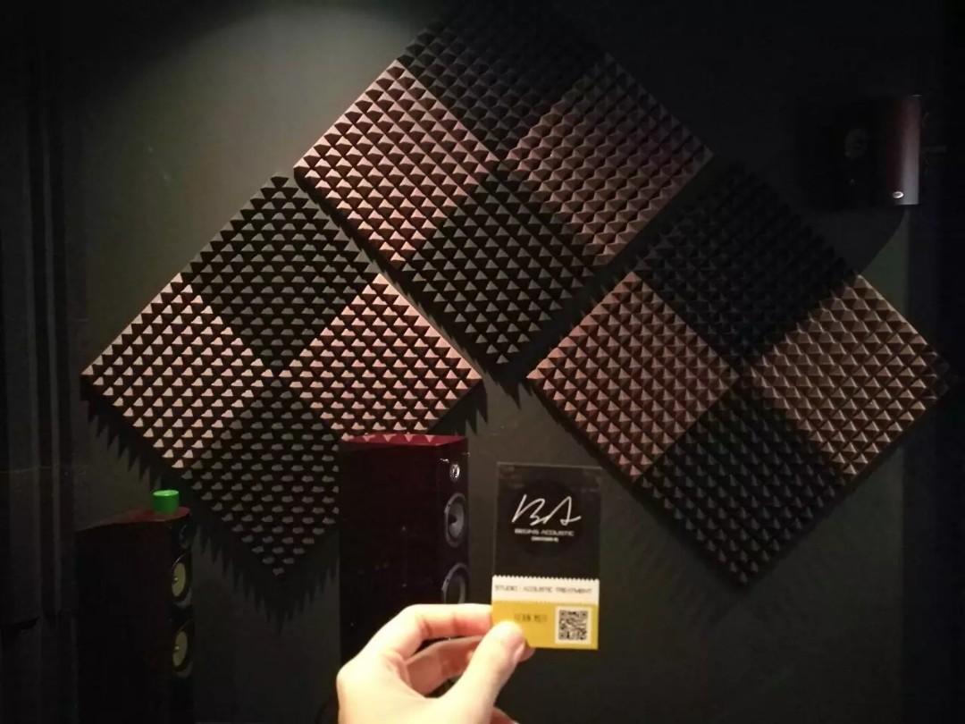 BA Pyramid Acoustic Foam