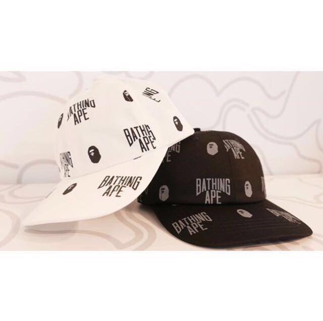 6db50ad8 BAPE MONOGRAM PANEL CAP, Men's Fashion, Accessories, Caps & Hats on ...