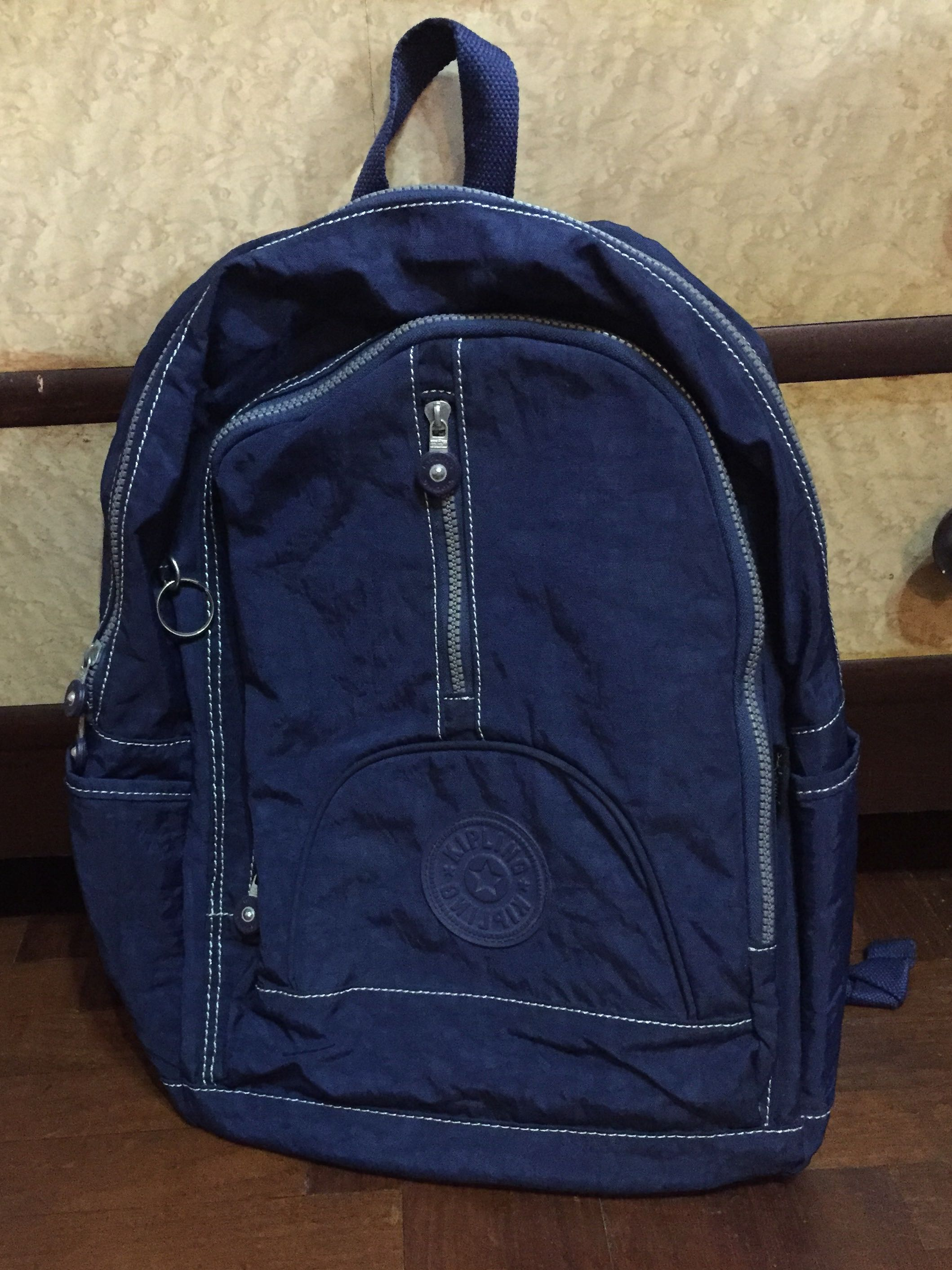 89dbe3068a Blue Kipling Backpack, Men's Fashion, Bags & Wallets, Backpacks on ...