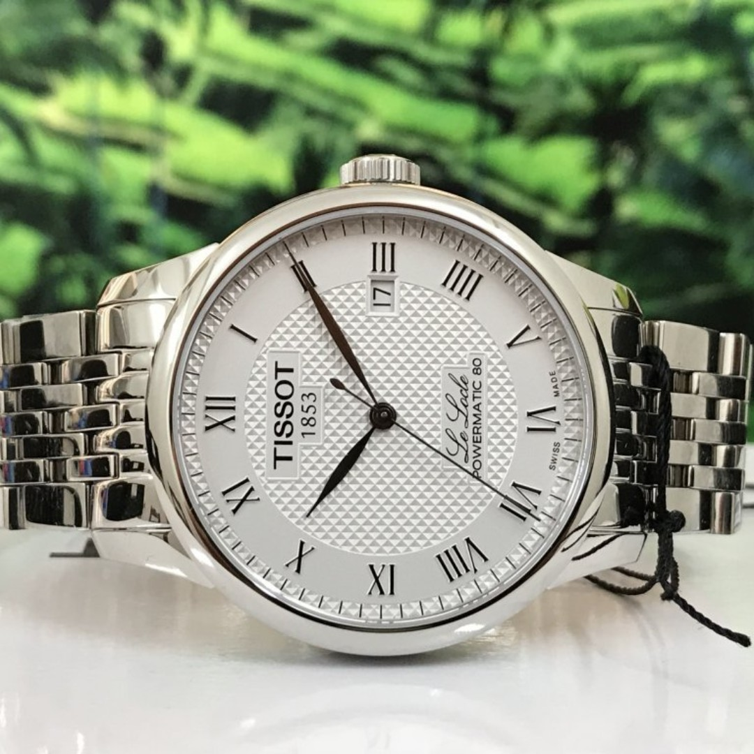 da99ebca2 [BNIB] Tissot Le Locle Powermatic 80 Automatic T0064071103300 Mens Watch,  Men's Fashion, Watches on Carousell