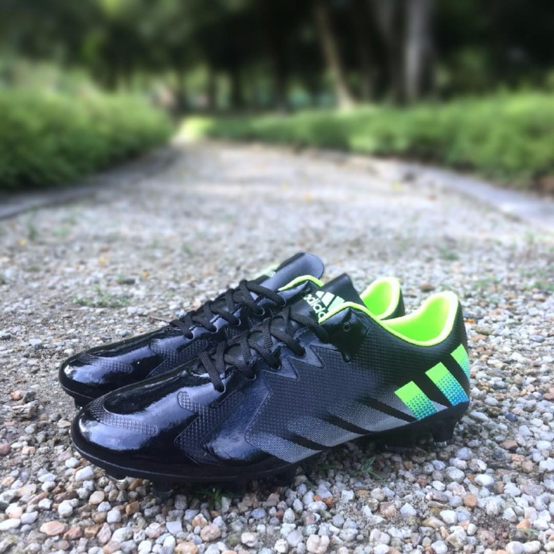 40605e82e Boot Adidas Predator Black Green ( Kasut Bola ), Men's Fashion ...
