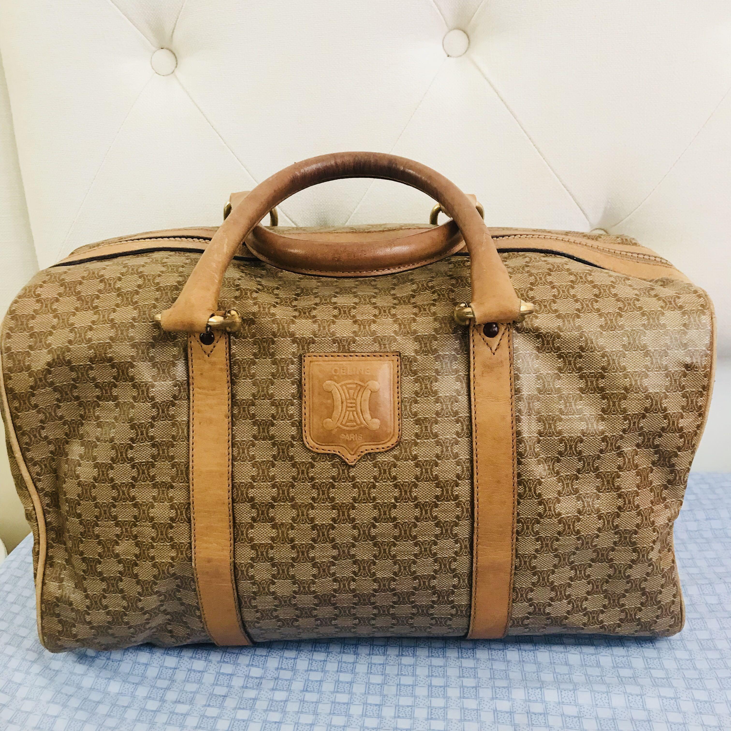 Celine Bowling Bag   Weekender Bag, Women s Fashion, Bags   Wallets on  Carousell 3c5e58d6e2
