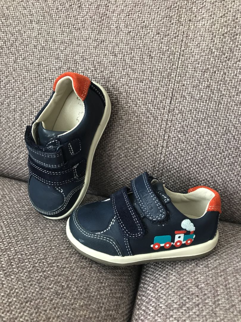 Clarks baby boy leather shoes, Babies