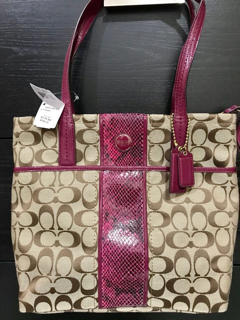 Coach tote bag NEW 8e874aaee4