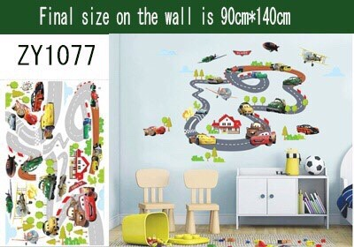 Disney Cars Wall Decal Babies Kids Toys Walkers On Carousell