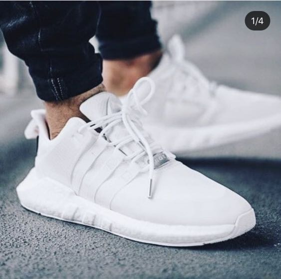 official photos 5abd0 20eb1 EQT Support 9317 Triple White GORE-TEX, Mens Fashion, Footwe