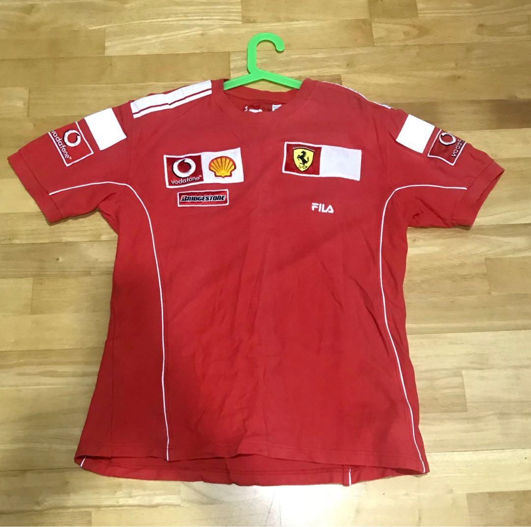 Ferrari team 2000 crew shirt