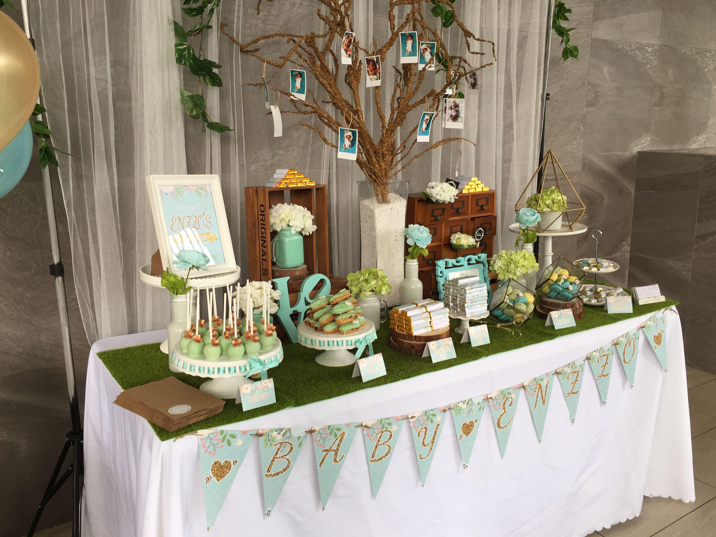 Garden Theme Dessert Table (Baby Shower), Home & Car Services,