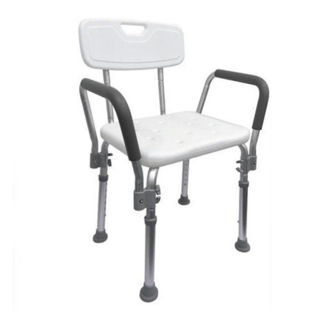 Non Slip Happybath Tool Free Bathroom Shower Chair Seat With