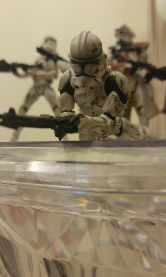 Hasbro Star Wars clone troopers assorted