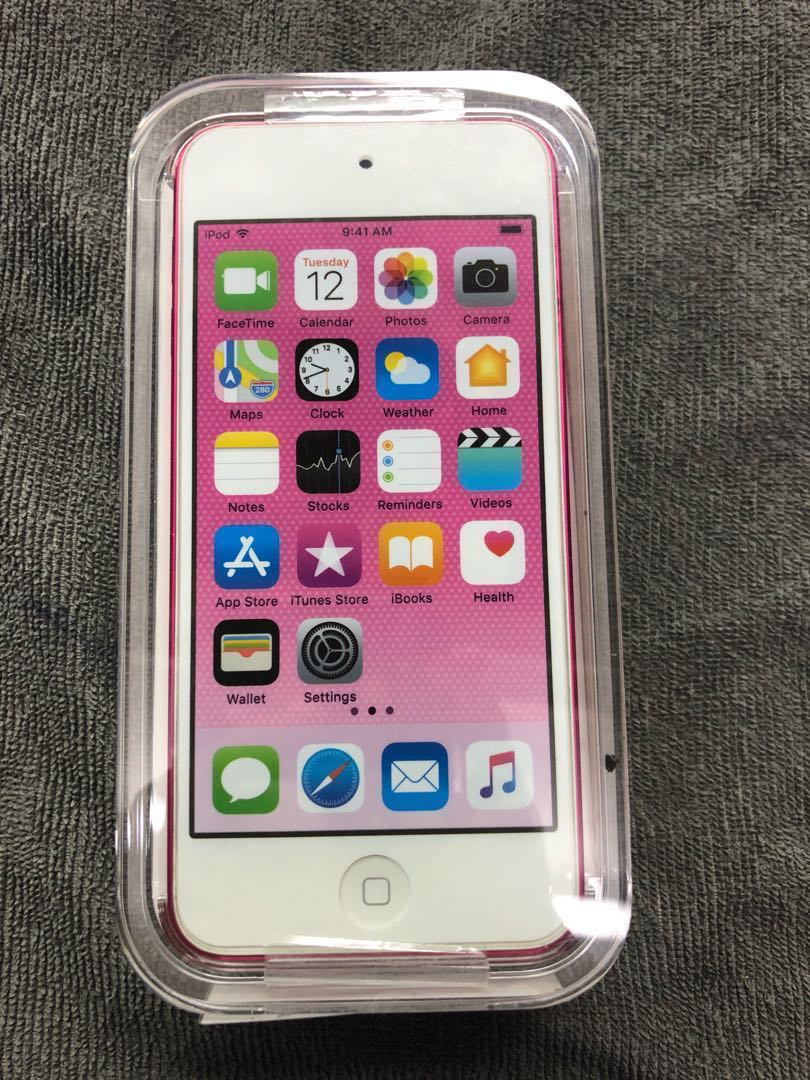 ipod touch 32gb pink 6th gen apple till march 2019 mobile. Black Bedroom Furniture Sets. Home Design Ideas