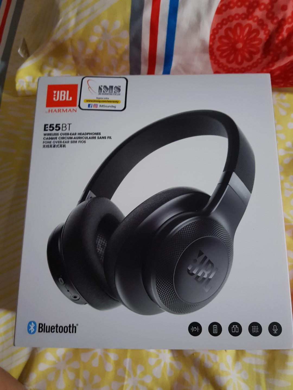 Jbl Bt E55 Wireless Headphone Electronics Audio On Carousell Razer Hammerhead Bluetooth Premium Gaming Earphone Headset Photo