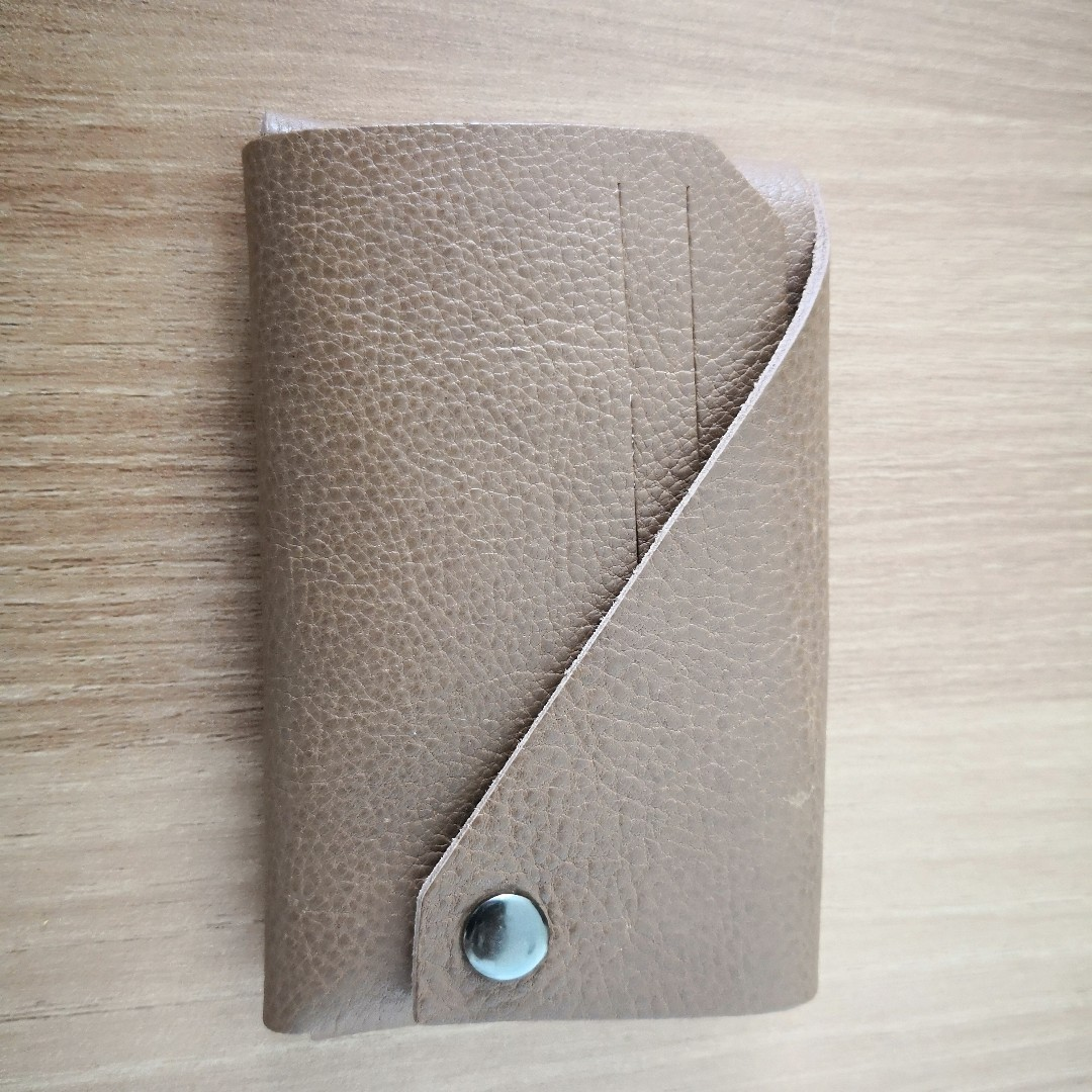 Leather Card Holder (With personalisation)