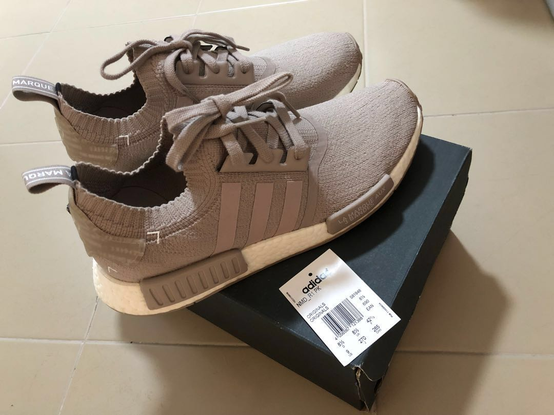 09a477d6e8395 🌟Like New Adidas NMD R1 PK French Beige🌟