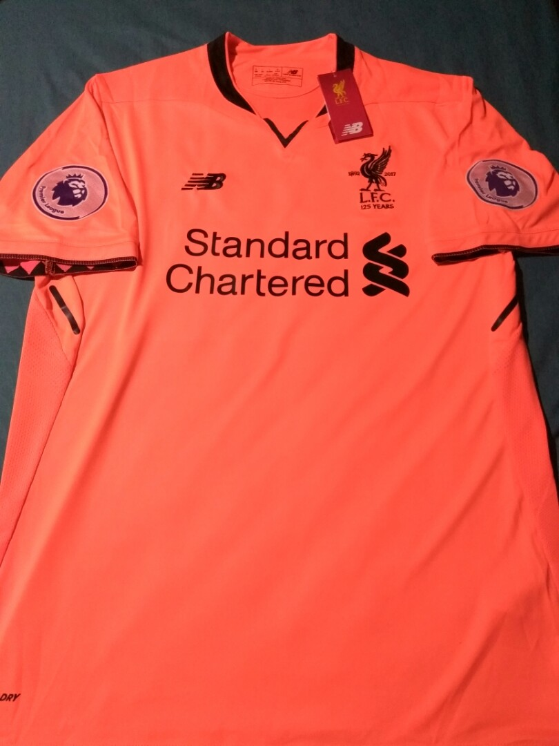 promo code 1d319 f6c3f Liverpool Away Third Kit