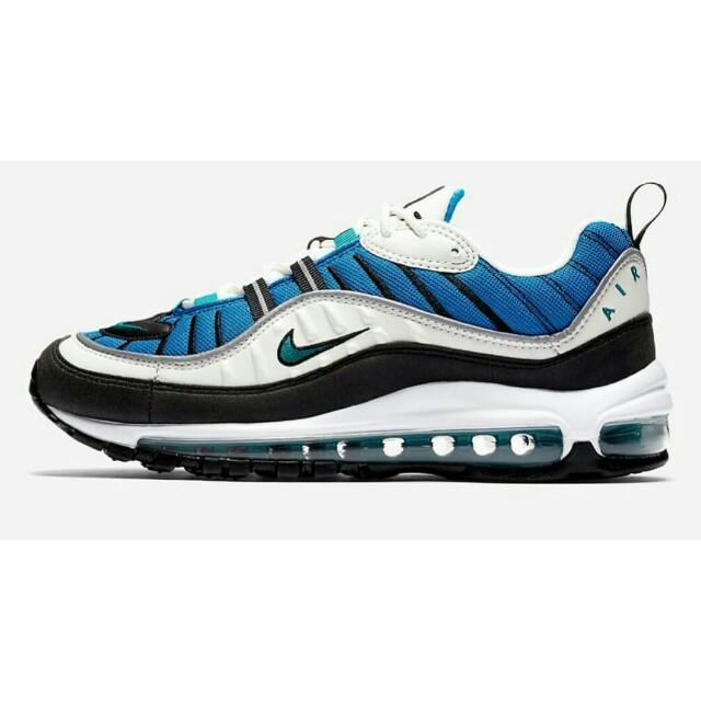 f6b1d23306 Nike Air Max 98 Blue Nebula, Men's Fashion, Footwear, Sneakers on ...