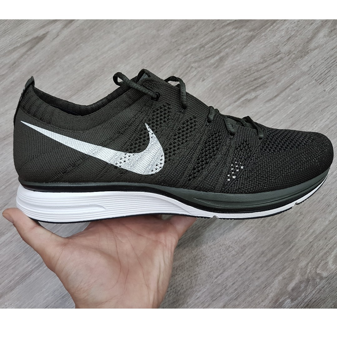 98854cbb60d4f Nike Flyknit Trainer Black Sequoia (OG 2012 Edition) US10