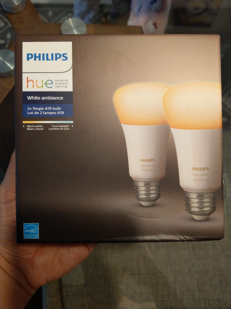 Philips Hue starter kit 2 bulbs (Google Alexa ready)