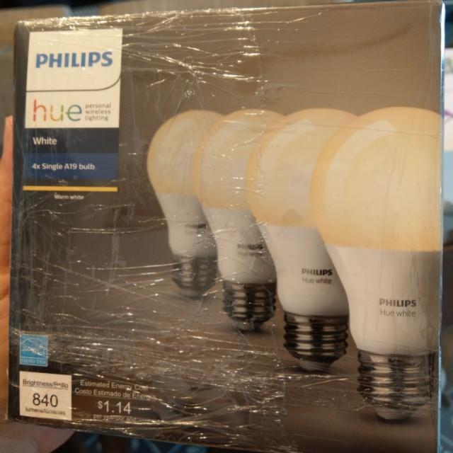 Philips Hue starter kit 2 bulbs (Google Alexa ready)