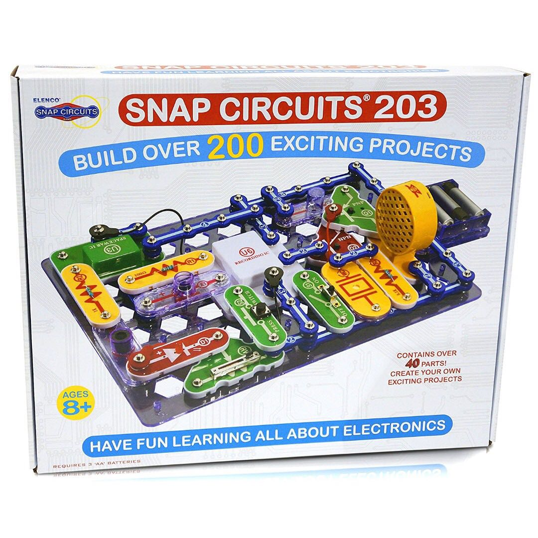 Pre Order Snap Circuits 203 Electronics Discovery Kit Babies What Are Kids Toys Walkers On Carousell