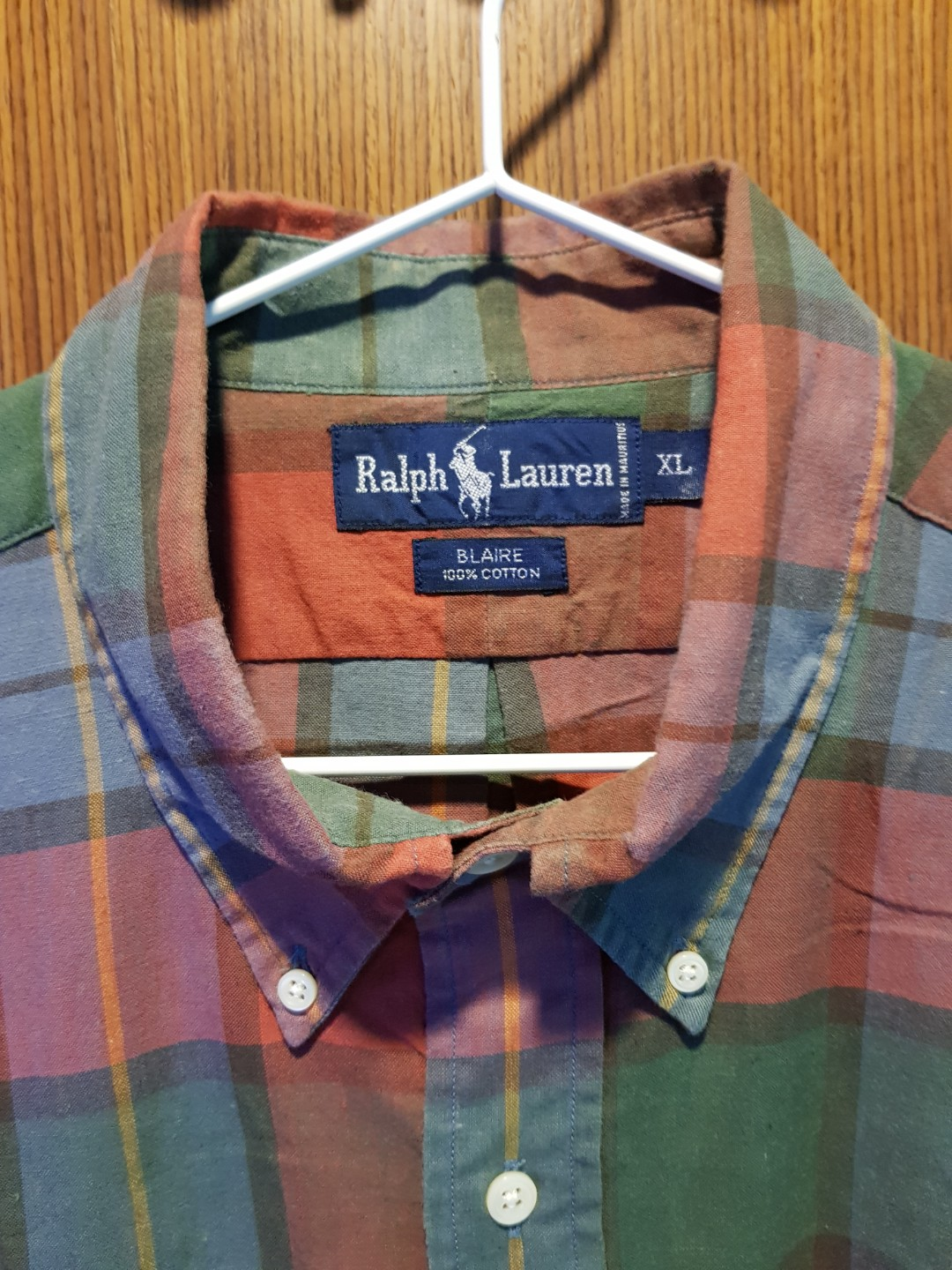 SaleMen's For Preowned Long Ralph Woven Polo Lauren Sleeve Shirt QBWdCxoeEr