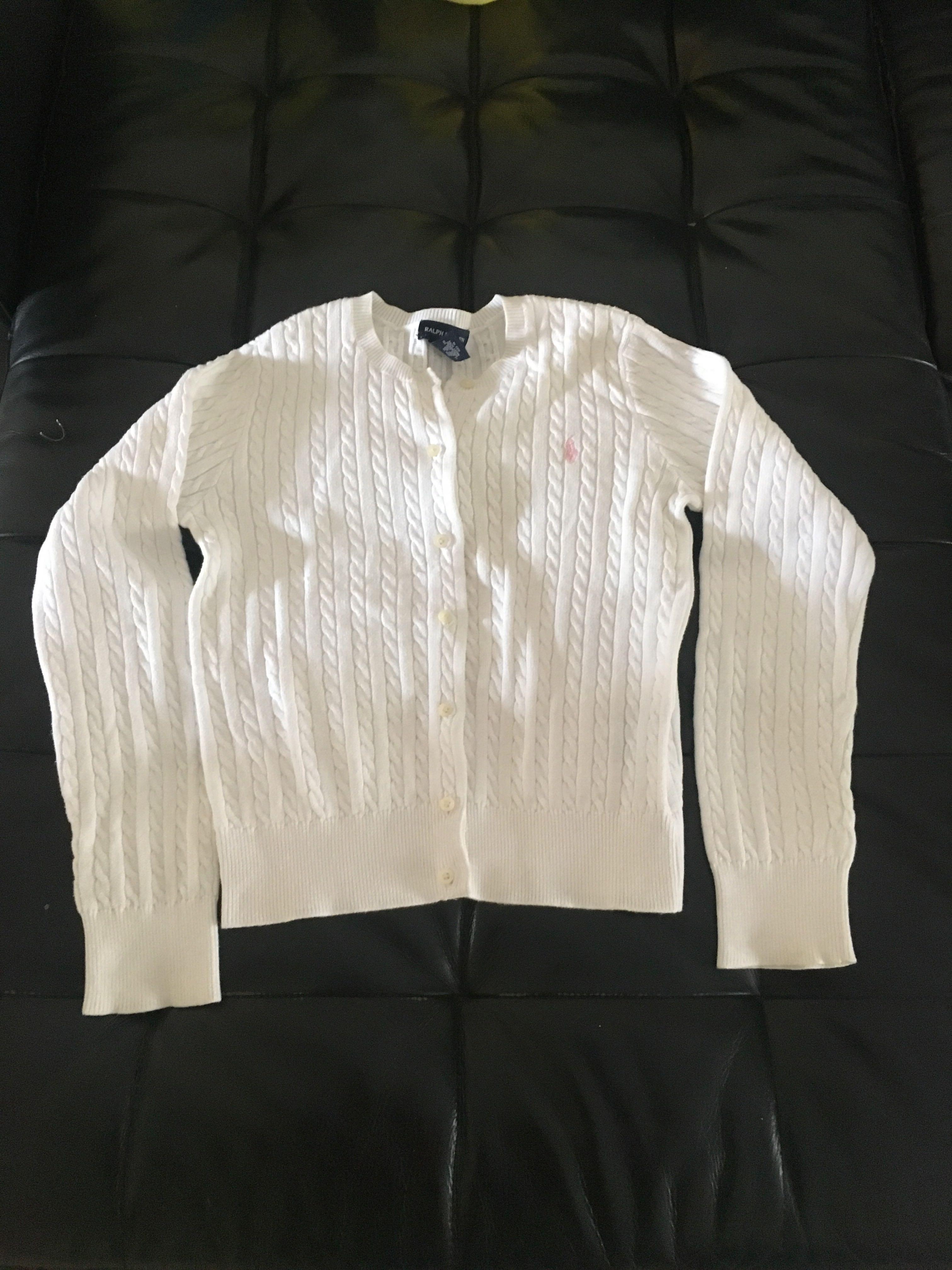 447dd4ea9 Ralph lauren polo kids sweater size L(12-14)